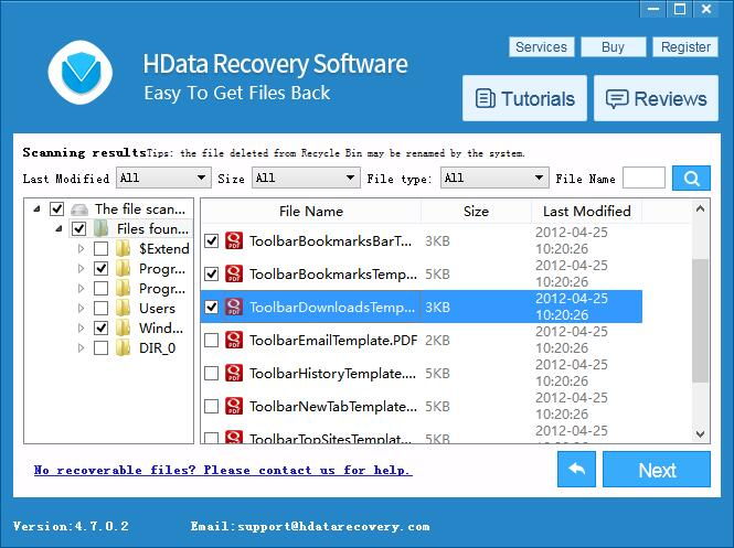Recover Data from Blue Screen of Death - Help Center – H