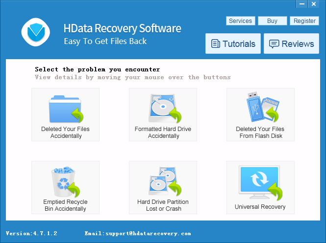 H Data Recovery software