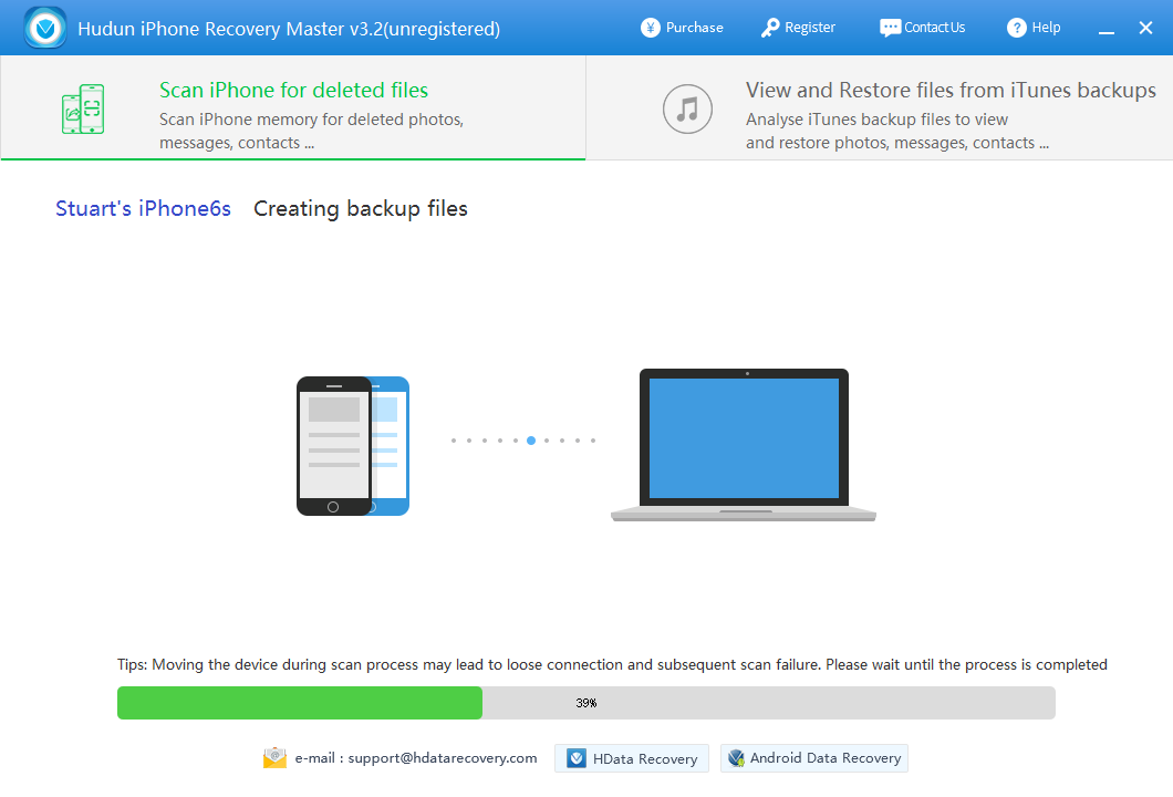 How to get back deleted photos from iPhone  Help Center \u2013 H Data Recovery